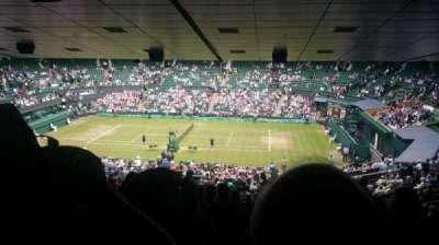 Wimbledon, Centre Court, section: 502, row: ZA, seat: 25