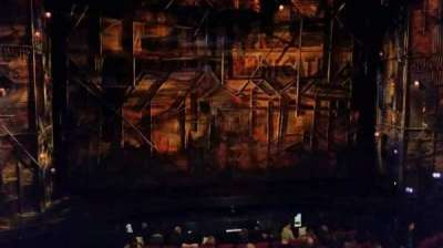 Broadway Theatre - 53rd Street, section: Mezz, row: A, seat: 110