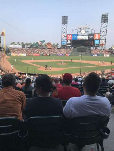 AT&T Park, section: 114, row: 30, seat: 2