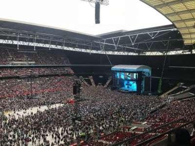 Wembley Stadium section 504