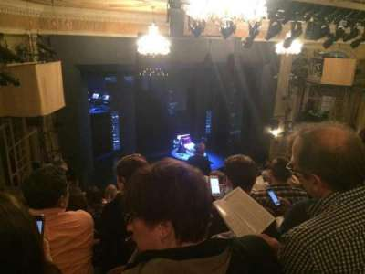 Music Box Theatre, section: Left Mezz, row: L, seat: 25