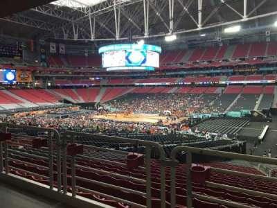 University of Phoenix Stadium, section: 104, row: WC, seat: 3