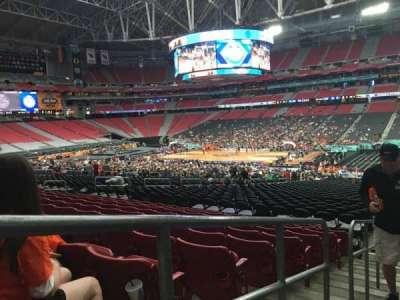 University of Phoenix Stadium, section: 104, row: 35, seat: 24
