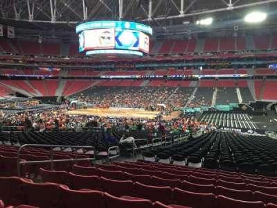 University Of Phoenix Stadium, section: 105, row: 35, seat: 13