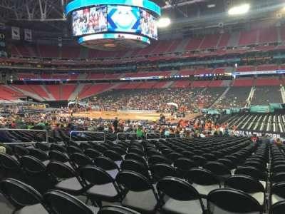 University Of Phoenix Stadium, section: 105, row: RR, seat: 8