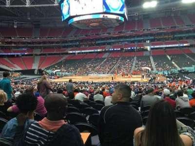 University Of Phoenix Stadium, section: 107, row: SS, seat: 9