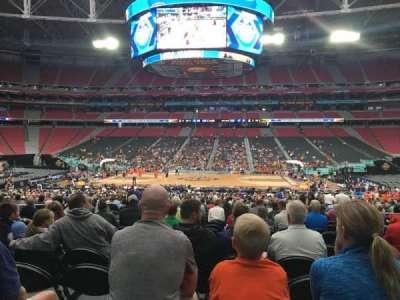 University Of Phoenix Stadium, section: 108, row: UU, seat: 7