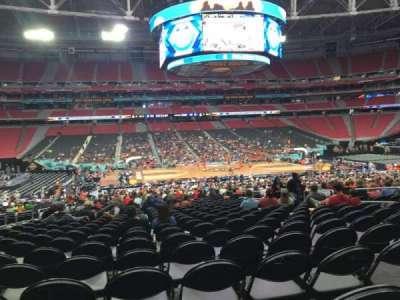 University Of Phoenix Stadium, section: 110, row: VV, seat: 11
