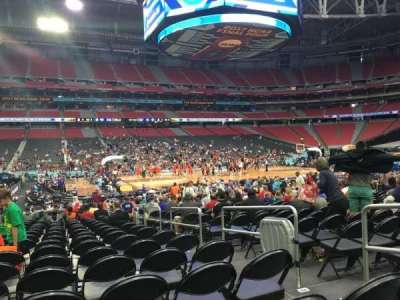 University Of Phoenix Stadium, section: 111, row: DD, seat: 4