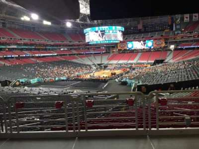 University Of Phoenix Stadium, section: 137, row: WC, seat: 19