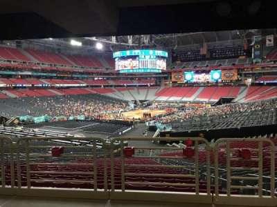 University of Phoenix Stadium, section: 137, row: WC, seat: 4