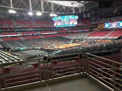 University Of Phoenix Stadium, section: 135, row: WC, seat: 18