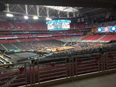 University Of Phoenix Stadium, section: 135, row: WC, seat: 13