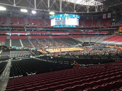 University of Phoenix Stadium, section: 133, row: WC, seat: 12