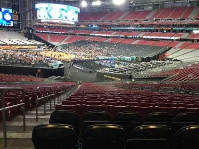 University Of Phoenix Stadium, section: 123, row: 44, seat: 36