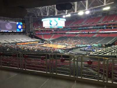 University Of Phoenix Stadium, section: 124, row: WC, seat: 15