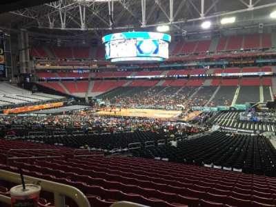 University Of Phoenix Stadium, section: 126, row: WC, seat: 4
