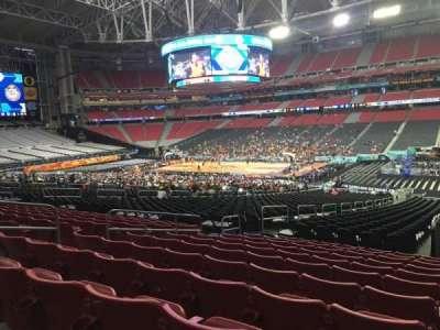 University of Phoenix Stadium, section: 125, row: 36, seat: 36