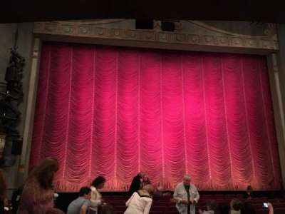 Broadhurst Theatre, section: ORCH, row: M, seat: 102