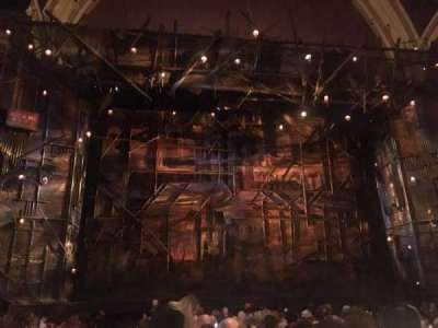 Broadway Theatre - 53rd Street, section: ORCH, row: O, seat: 113