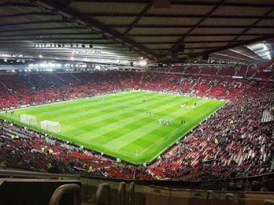 Old Trafford, section: NE3425, row: 22, seat: 114