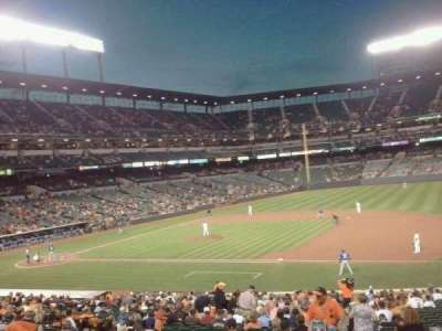 Oriole Park at Camden Yards, section: 17, row: 1, seat: 2