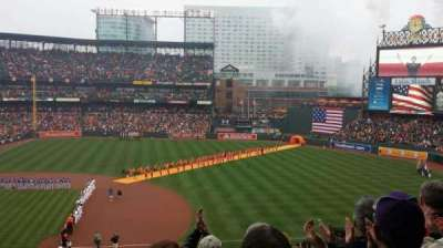 Oriole Park at Camden Yards, section: 218, row: 8, seat: 17