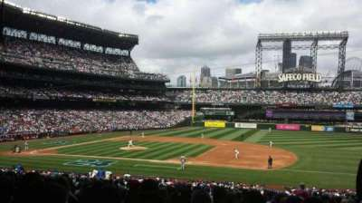 Safeco Field, section: 120, row: 38, seat: 2