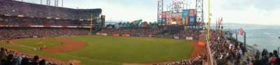 AT&T Park, section: 202, row: E, seat: 12