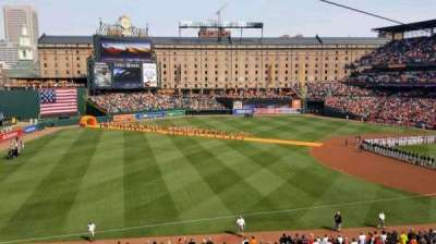 Oriole Park at Camden Yards, section: 260, row: 1, seat: 2