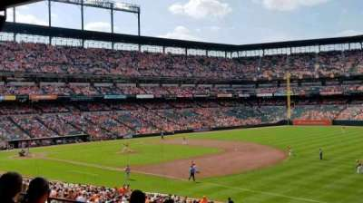 Oriole Park at Camden Yards, section: 11, row: 6, seat: 23