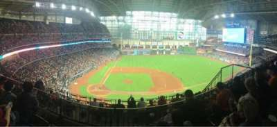 Minute Maid Park, section: 424, row: 3, seat: 14