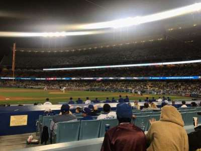 Dodger Stadium, section: 25FD, row: C, seat: 1