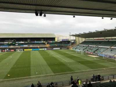 Home Park, section: 11, row: Y, seat: 300
