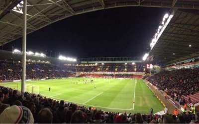 Bramall Lane, section: Kop, row: Z, seat: 170