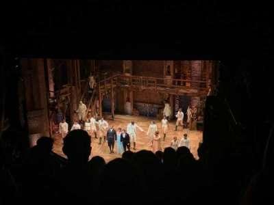 CIBC Theatre, section: Mezzanine R, row: K, seat: 14