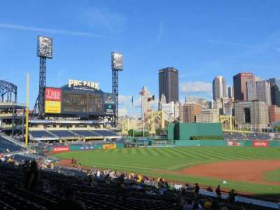 PNC Park, section: 120, row: W, seat: 14