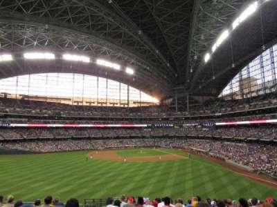 Miller Park, section: 237, row: 15, seat: 18