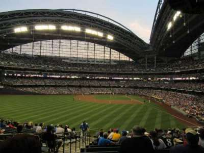 Miller Park, section: 236, row: 14, seat: 19