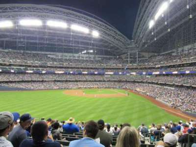Miller Park, section: 237, row: 15, seat: 4