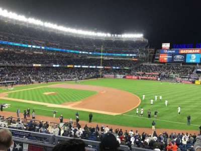 Yankee Stadium, section: 214A, row: 3, seat: 7