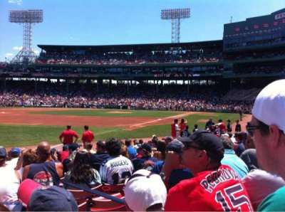 Fenway Park, section: Field Box 79