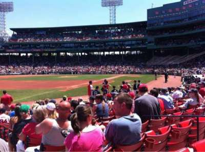 Fenway Park, section: Field Box 78, row: M