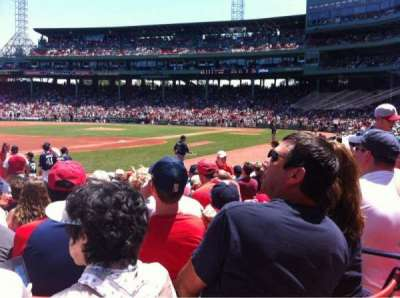 Fenway Park, section: Field Box 73, row: M