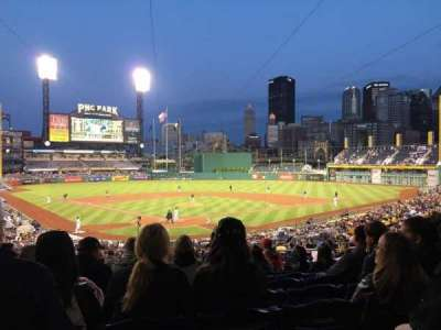 PNC Park, section: 115, row: BB, seat: 24