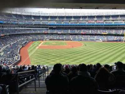 Yankee Stadium, section: 205, row: 18, seat: 1