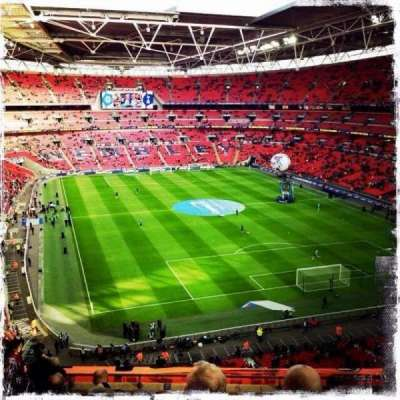 Wembley Stadium, section: 542, row: 10, seat: 83