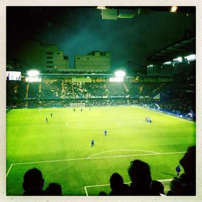 Stamford Bridge, section: U13, row: K, seat: 109