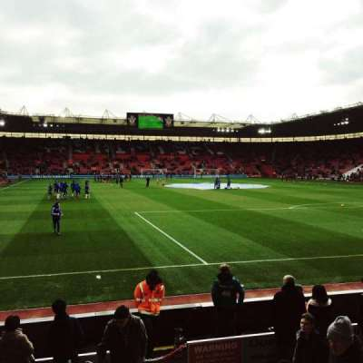 St Mary's Stadium, section: 45, row: H, seat: 1167