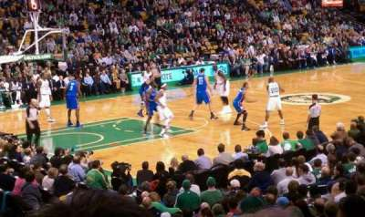 TD Garden, section: Loge 15, row: 15, seat: 4